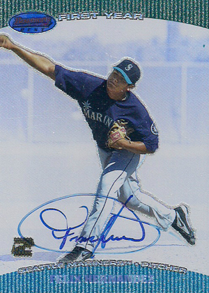 Felix Hernandez Rookie Card Checklist and Guide 3