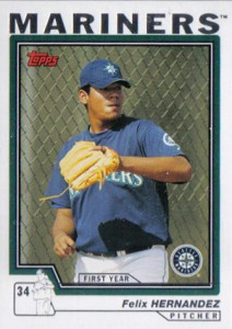 2004 Topps Traded Felix Hernandez RC