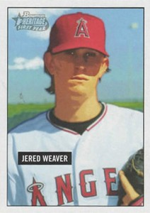 Jered Weaver Rookie Card Guide 2