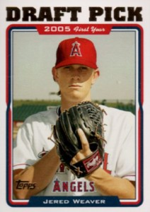 Jered Weaver Rookie Card Guide 5