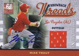 Ultimate Guide to Mike Trout Autograph Cards: 2009 to 2012 4