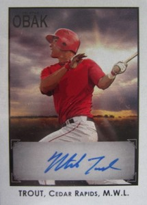 Ultimate Guide to Mike Trout Autograph Cards: 2009 to 2012 8