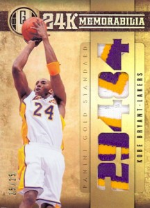 Midas Touch: Top Selling 2011-12 Panini Gold Standard Basketball Cards 7
