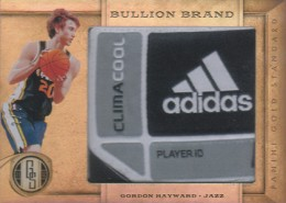 Midas Touch: Top Selling 2011-12 Panini Gold Standard Basketball Cards 8