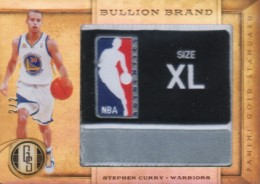 2011-12 Panini Gold Standard Basketball Bullion Brand Stephen Curry