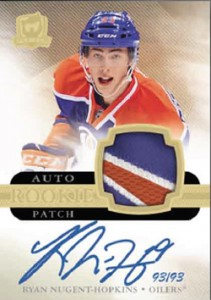 2011-12 Upper Deck The Cup Hockey Ryan Nugent-Hopkins Auto Rookie Patch