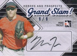 Ultimate Guide to Mike Trout Autograph Cards: 2009 to 2012 14
