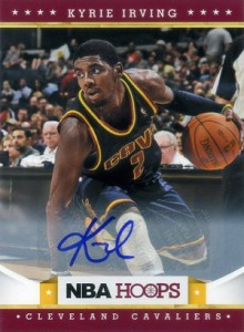 2012-13 NBA Hoops Kyrie Irving Autograph