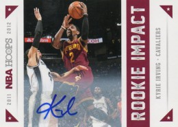2012-13 NBA Hoops Rookie Impact Autograph Kyrie Irving