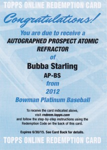 What's Hot in 2012 Bowman Platinum Baseball? 9