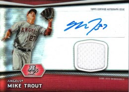 Ultimate Guide to Mike Trout Autograph Cards: 2009 to 2012 19