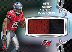 2012 Bowman Sterling Football Cards 8