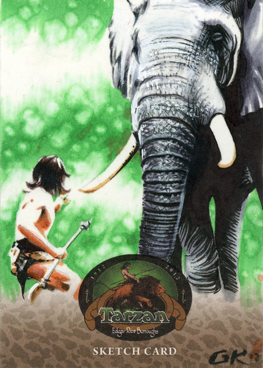 2012 Cryptozoic Tarzan 100th Anniversary Trading Cards 26