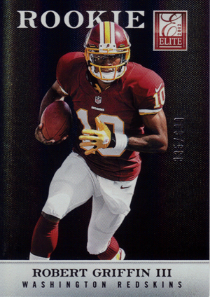 2012 Elite Robert Griffin III RC