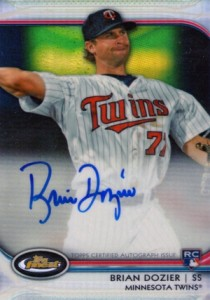 2012 Topps Finest Baseball Rookie Autographs Visual Guide 3