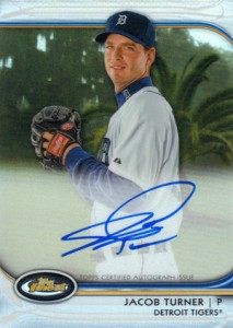 2012 Topps Finest Baseball Rookie Autographs Visual Guide 9