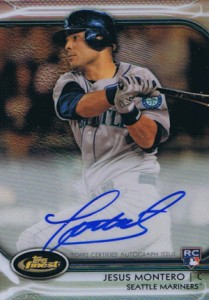 2012 Topps Finest Baseball Rookie Autographs Visual Guide 11