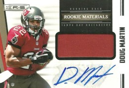 Doug Martin Rookie Cards Checklist and Guide 20