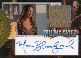 2012 Rittenhouse Falling Skies Season One Autographed Costume Moon Bloodgood