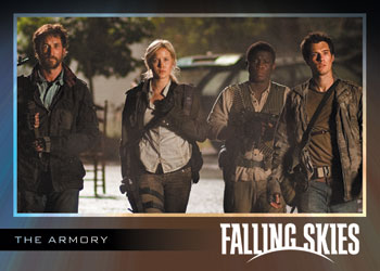 2012 Rittenhouse Falling Skies Season 1 Trading Cards 17