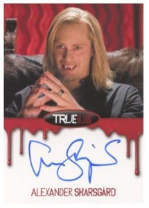 2012 Rittenhouse True Blood Premiere Edition Autographs Alexander Skarsgard