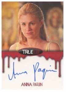 2012 Rittenhouse True Blood Premiere Edition Autographs Anna Paquin