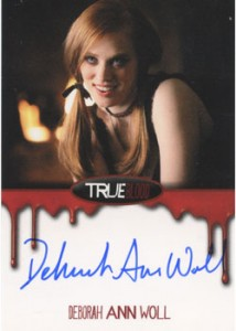 2012 Rittenhouse True Blood Premiere Edition Autographs Deborah Ann Woll as Jessica Hamby