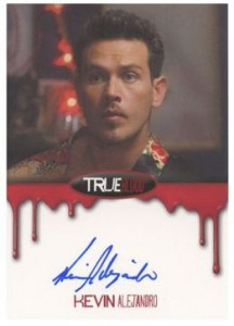2012 Rittenhouse True Blood Premiere Edition Autographs Kevin Alejandro as Jesus Velasquez
