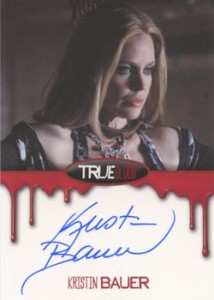 2012 Rittenhouse True Blood Premiere Edition Autographs Kristin Bauer as Pam