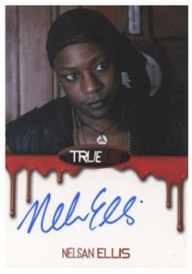 2012 Rittenhouse True Blood Premiere Edition Autographs Nelsan Ellis