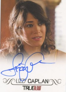 2012 Rittenhouse True Blood Premiere Edition Autographs Lizzy Caplan Full Bleed