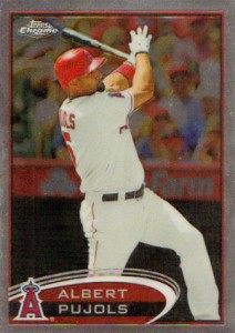 Do You Have Any 2012 Topps Chrome Baseball Variation Short Prints? 8