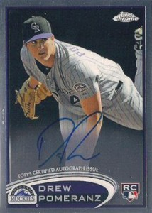 2012 Topps Chrome Baseball Autograph Rookie Variations Visual Guide 7