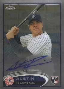 2012 Topps Chrome Baseball Autograph Rookie Variations Visual Guide 8