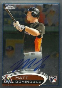2012 Topps Chrome Baseball Autograph Rookie Variations Visual Guide 9