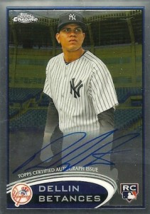 2012 Topps Chrome Baseball Autograph Rookie Variations Visual Guide 15
