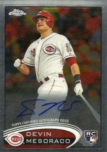 2012 Topps Chrome Baseball Autograph Rookie Variations Visual Guide 18
