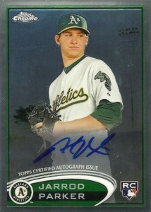 2012 Topps Chrome Baseball Autograph Rookie Variations Visual Guide 20
