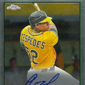 2012 Topps Chrome Baseball Autograph Rookie Variations Visual Guide