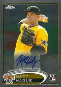 2012 Topps Chrome Baseball Autograph Rookie Variations Visual Guide 26