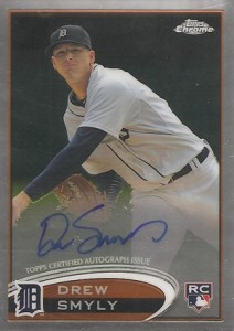 2012 Topps Chrome Baseball Autograph Rookie Variations Visual Guide 27