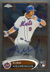 2012 Topps Chrome Baseball Autograph Rookie Variations Visual Guide 28
