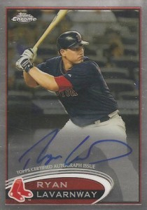 2012 Topps Chrome Baseball Autograph Rookie Variations Visual Guide 1