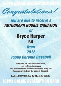 2012 Topps Chrome Baseball Autograph Rookie Variations Visual Guide 30