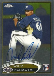 2012 Topps Chrome Baseball Autograph Rookie Variations Visual Guide 33