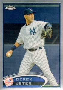 Do You Have Any 2012 Topps Chrome Baseball Variation Short Prints? 9