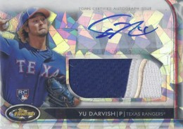 10 Hottest 2012 Topps Finest Baseball Cards 7