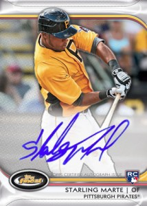 Jean Segura Named Fifth 2012 Finest Baseball Autograph Rookie Redemption 2