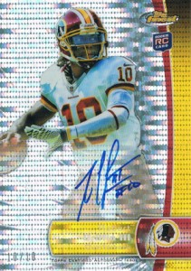 What Are the Top Selling Cards in 2012 Topps Finest Football? 7