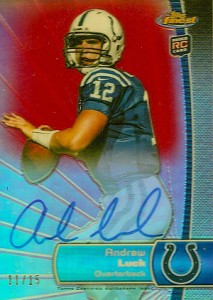 What Are the Top Selling Cards in 2012 Topps Finest Football? 2